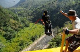 Thriller Combo: Giant Swing+Flying Fox