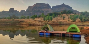 Floating tent camping in Igatpuri