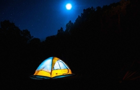 New Year Camp at Secret Hideout