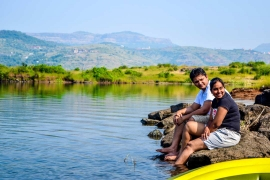 New Year Camping at Pavna Lake
