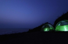 New Year Camping at Kashid - Hillock