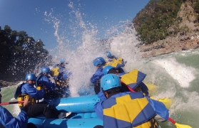 Raft+Bike+Bungy Trip