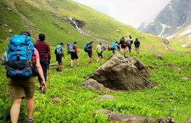 Backpacking trek to Hampta Pass and Chandratal