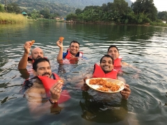 Camping at Kalote Lake, Khopoli