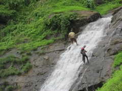 Diksal Waterfall Rappelling Trip
