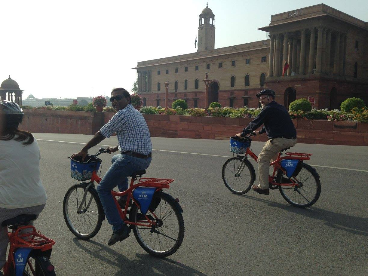 Cycling Delhi City tour Adventure