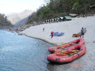 Kids' Camp Ganga Rafting Haridwar Uttarakhand