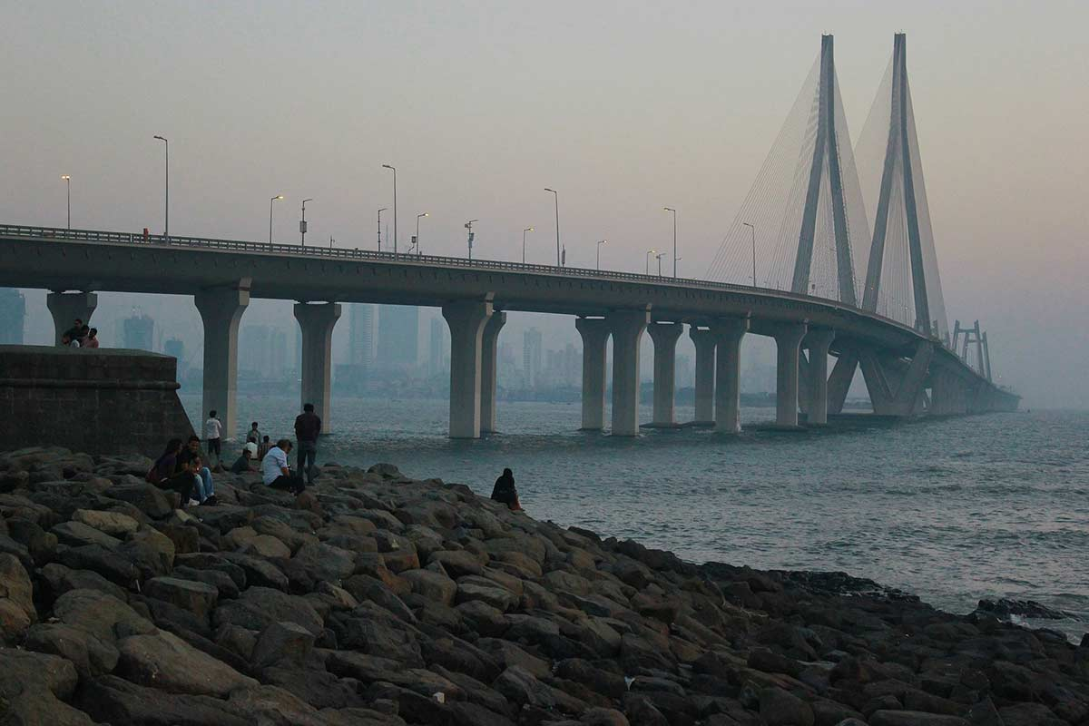 Mumbai Midnight Cycling City Tour Coastal Ride Adventure Monuments