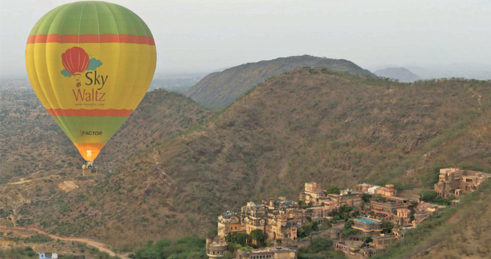 Hot Air Balloon Neemrana Adventure Activity Safari Rajasthan