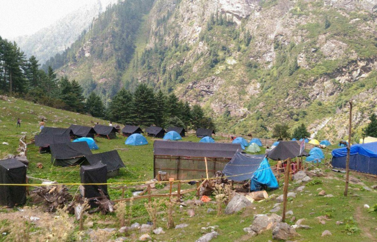 Chalal Kheerganga Trek Himachal Pradesh Himalayas Adventure Trekking India The Great Next