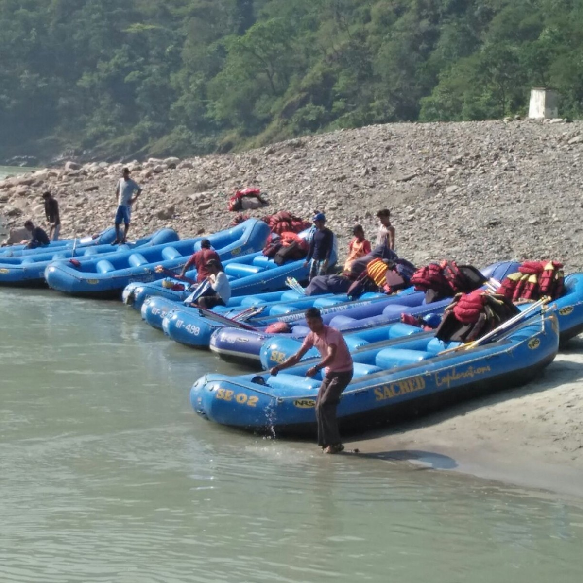 Rishikesh White Water Rafting Ganges Adventure River The Great Next