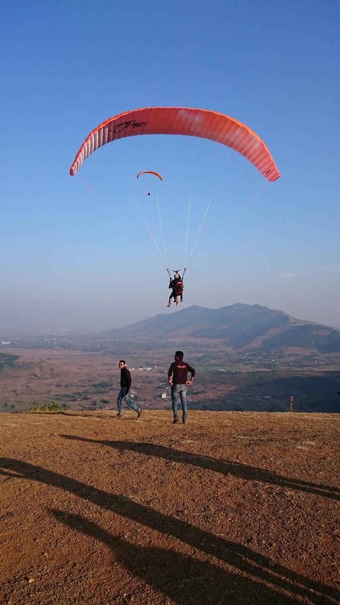 Paragliding Kamshet Tandem Adventure