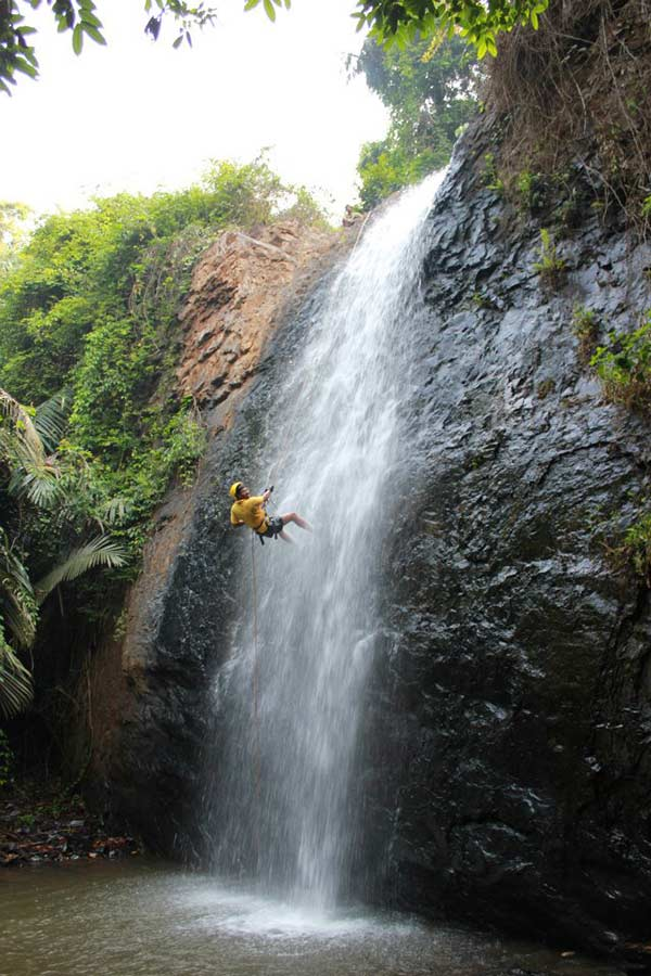 Karnataka Dandeli Rafting Safari Adventure Rappeling Kayaking Offbeat Travel Jungle Resort Activity Riverside