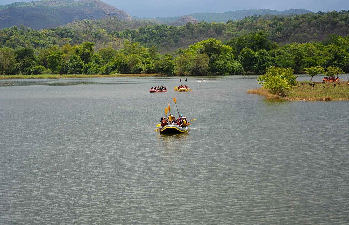 Kundalika River Rafting Kolad Maharahtra Adventure