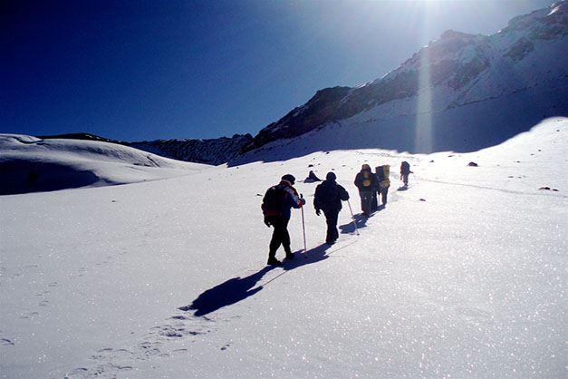 Dhauladhar Trekking Himalayas Camping Snow Trek Himachal Pradesh