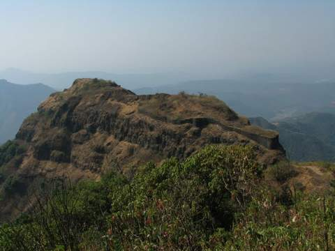 Prachitgad Fort Trekking Adventure Nature Maharashtra Sahyadris