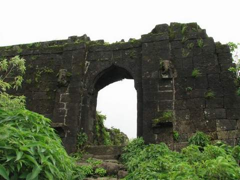 Rohida Fort Trekking Adventure Nature Maharashtra Sahyadris