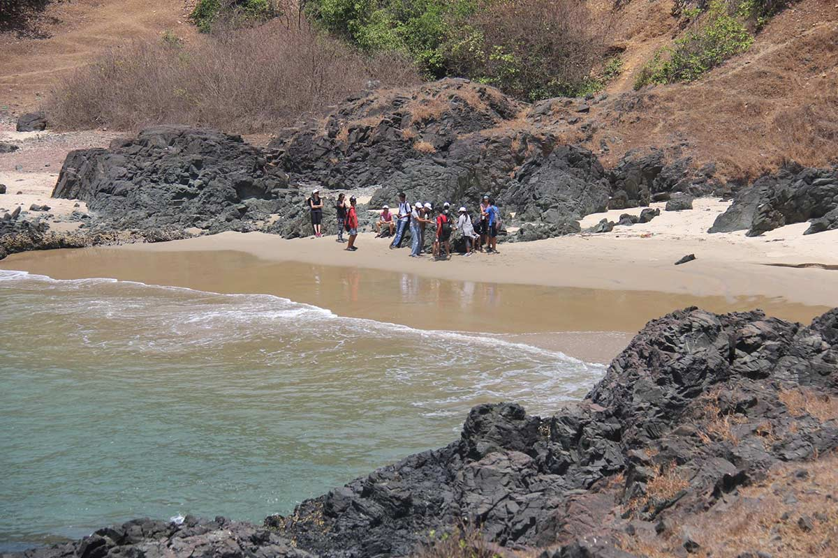 Goa Adventure Trekking Ocean Trek Arambol Hiking