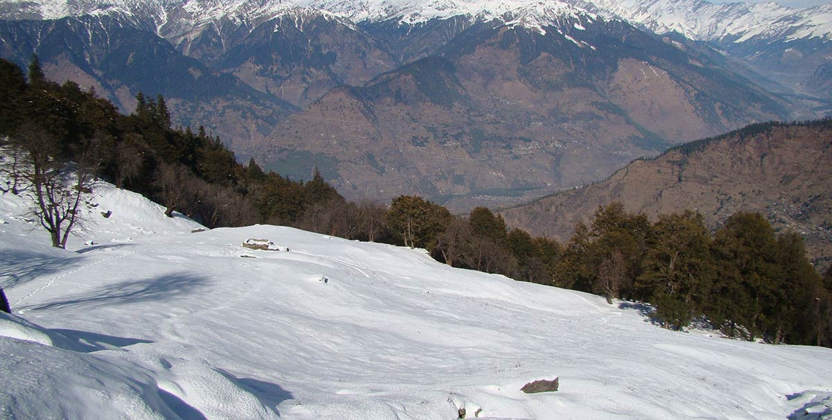 Trekking Snow Adventure Kullu Manali Trekking Chandrakhani Pass Adventure