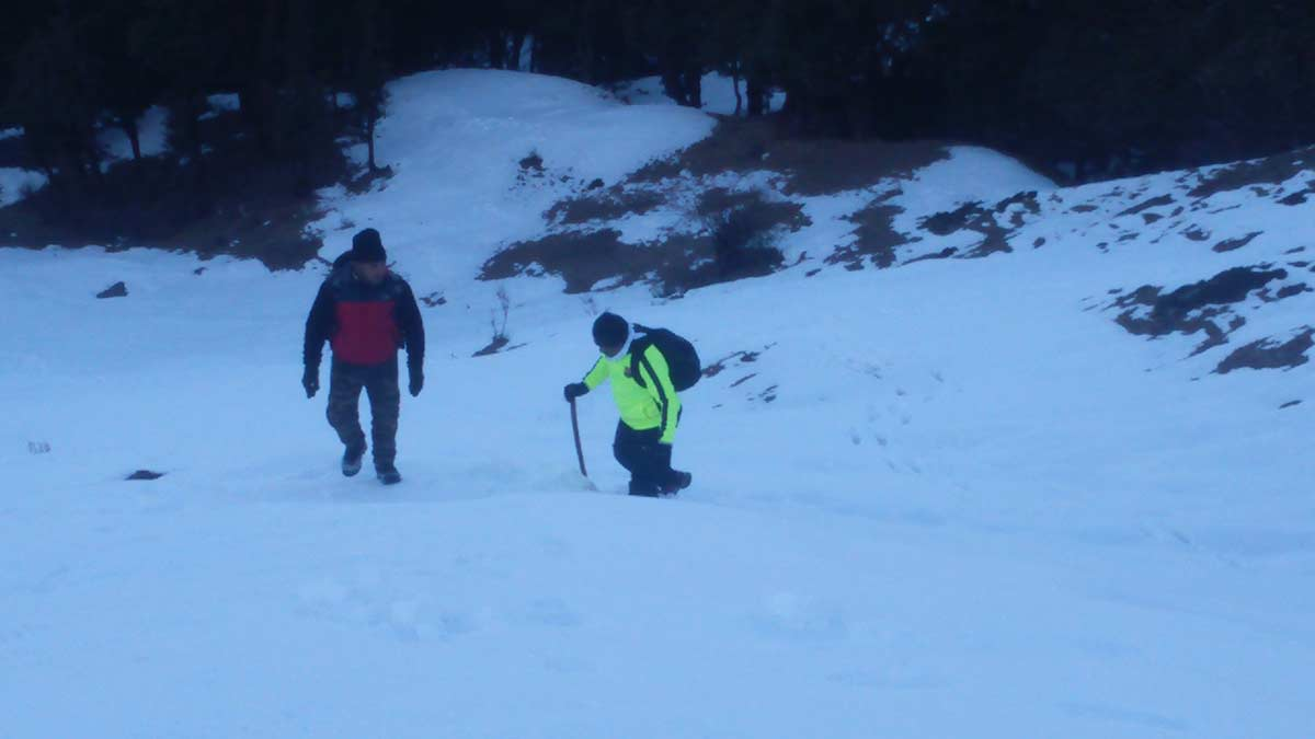 Nagtibba Snow Trekking Adventure Nature Uttarakhand