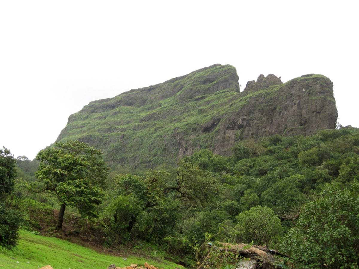 Visapur Fort Trek Maharashtra Monsoon Trekking Adventure Travel Nature Mountains Wild