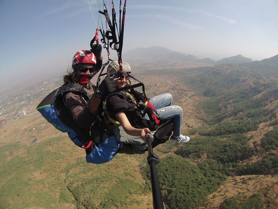Kamshet Paragliding Adventure Maharashtra Mumbai Pune Lonavla The Great Next