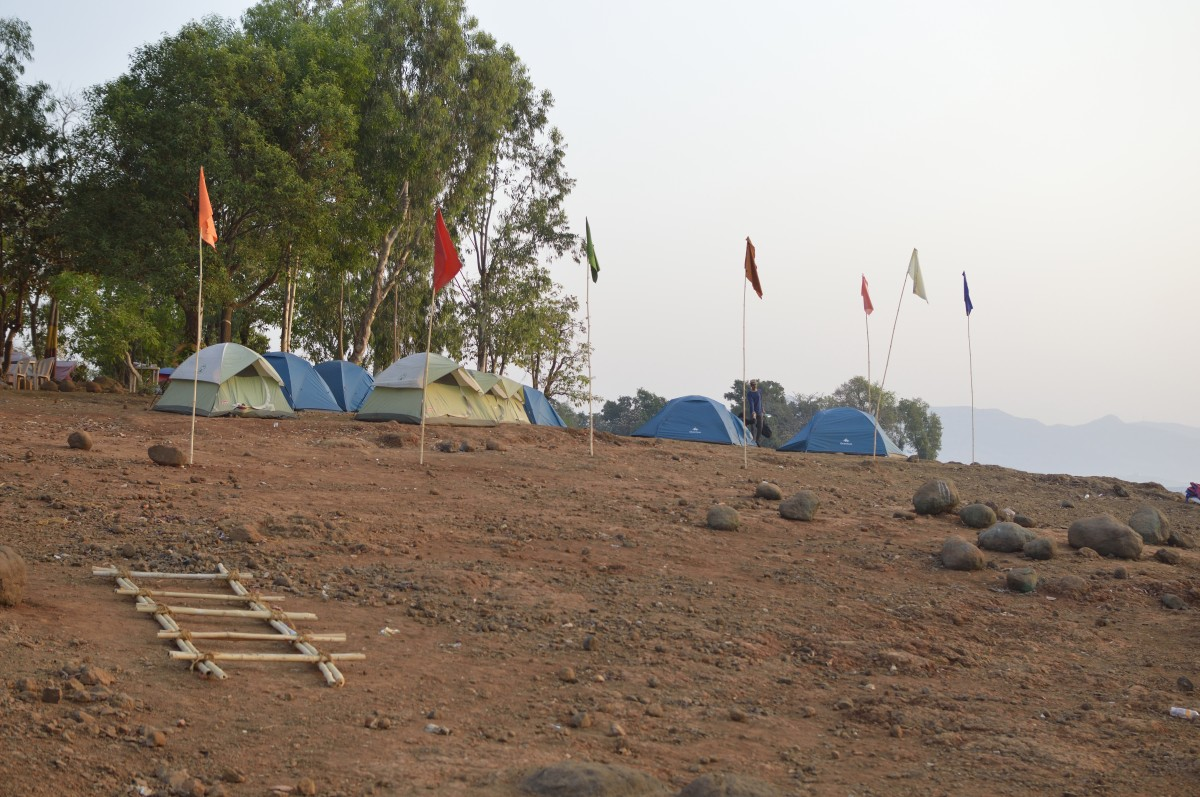 Camping Pavna Lake Lonavla Adventure The Great Next