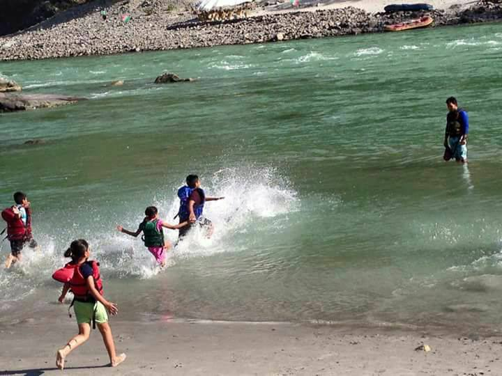 Multi Adventure Camp Rishikesh Uttarakhand Trekking Rafting Camping Swimming Luxury Fun Nature Fun