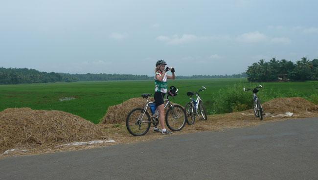 Kerala Cycling Adventure Beach Backwaters Cochin