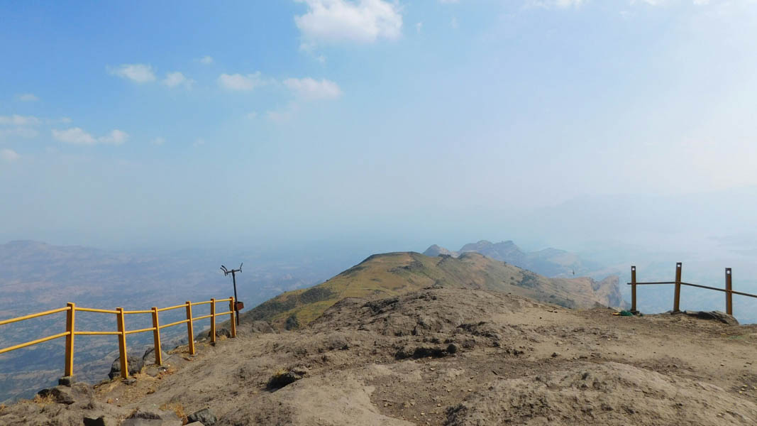 Kalsubai Fort Trek Maharashtra Monsoon Trekking Adventure Activity Mountains Nature Greenery