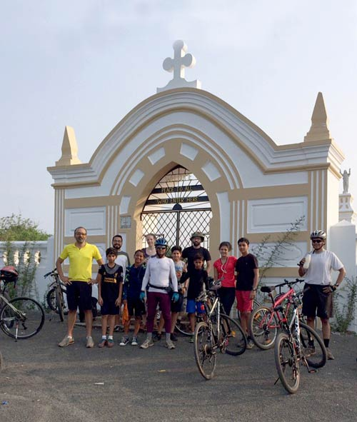 Cycling Goa Islands Chorao Panaji Adventure