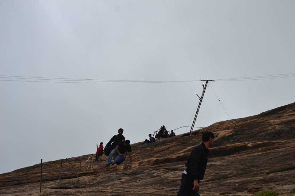 Kabbal Durga Trek Fort Bangalore Kanakapura Trekking Sahyadris The Great Next