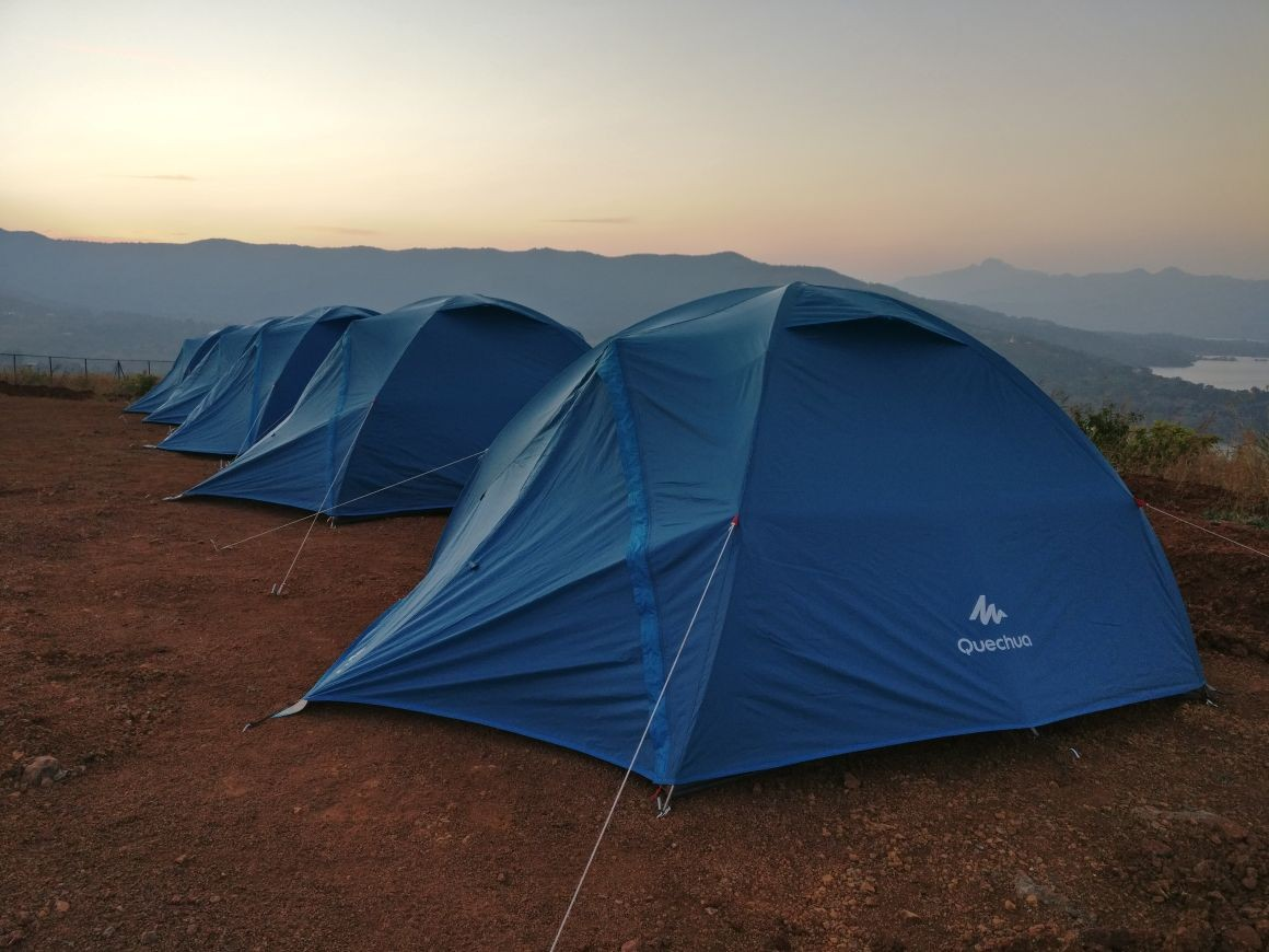 Camping Pune Bhor Adventure Tents Maharashtra The Great Next