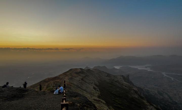Kalsubai Night Trek Maharashtra Mountain Fort Trekking Adventure Travel History Nature