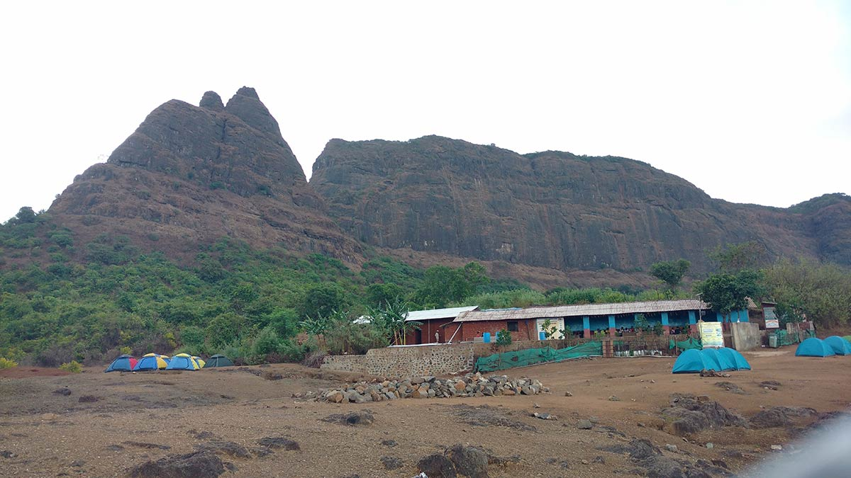 Prabalmachi Trek Camp Maharashtra Mountains Adventure Travel Nature Fun Activity