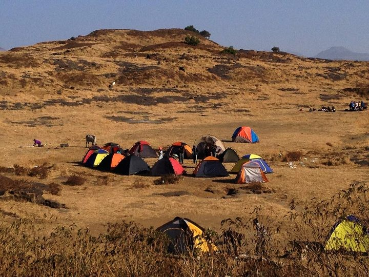 Konkankada Trek Camping Harishchandragad Fort Sahyadris Mumbai Maharashtra Adventure The Great Next