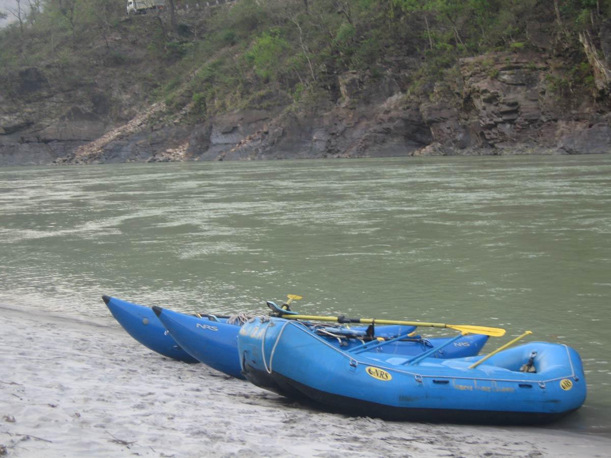 Water Rafting Alaknanda Jayalgarh Adventure Haridwar