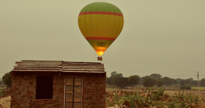Hot Air Balloon Ranthambore Adventure Activity Safari Rajasthan