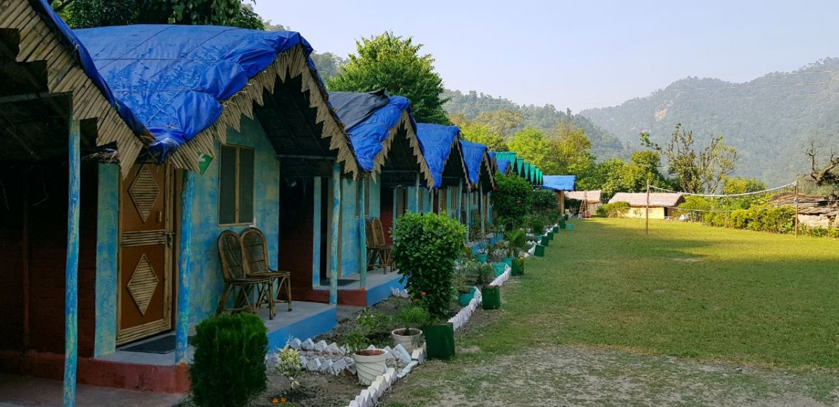 Rishikesh Rafting Cottage Forest Campsite Ganga Neelkanth Adventure The Great Next