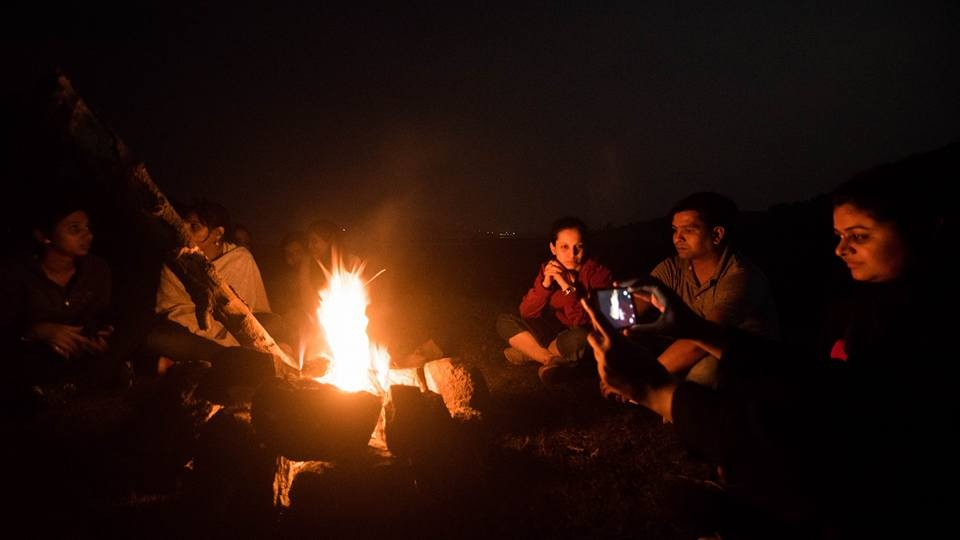 Bhandardara Camping Tents Adventure Maharashtra New Year The Great Next