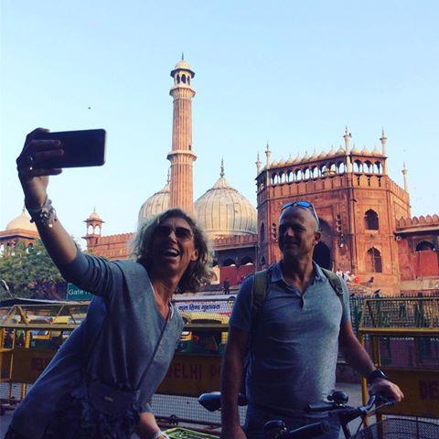 New Delhi Cycling Adventure Travel Delhi India Cycle