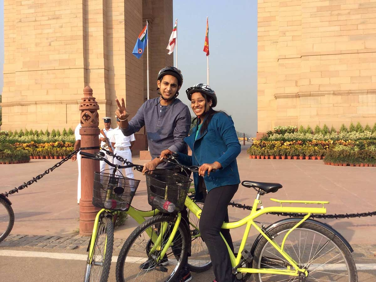 New Delhi Cycling Adventure Travel Delhi India Cycle