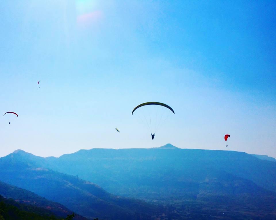 Paragliding Adventure Tandem Paragliding Kamshet Maharashtra Offbeat