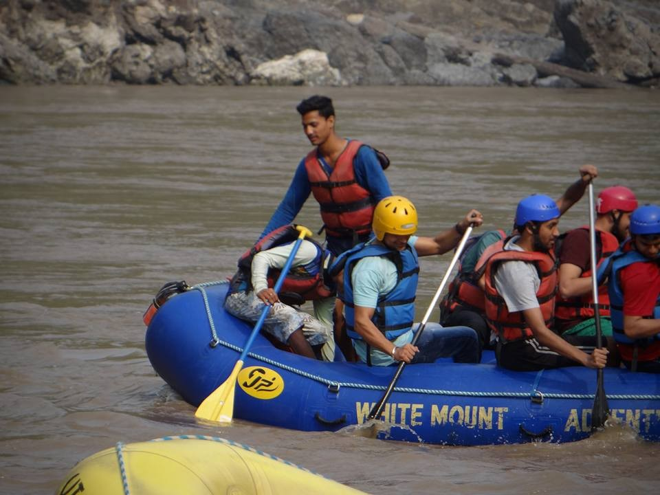 White Water Rafting Rishikesh Uttarakhand Camp Adventure Travel Activity Trekking Ganga River Rapids