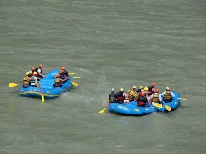 Rishikesh Rafting Ganges River Rafting Camping Campsite