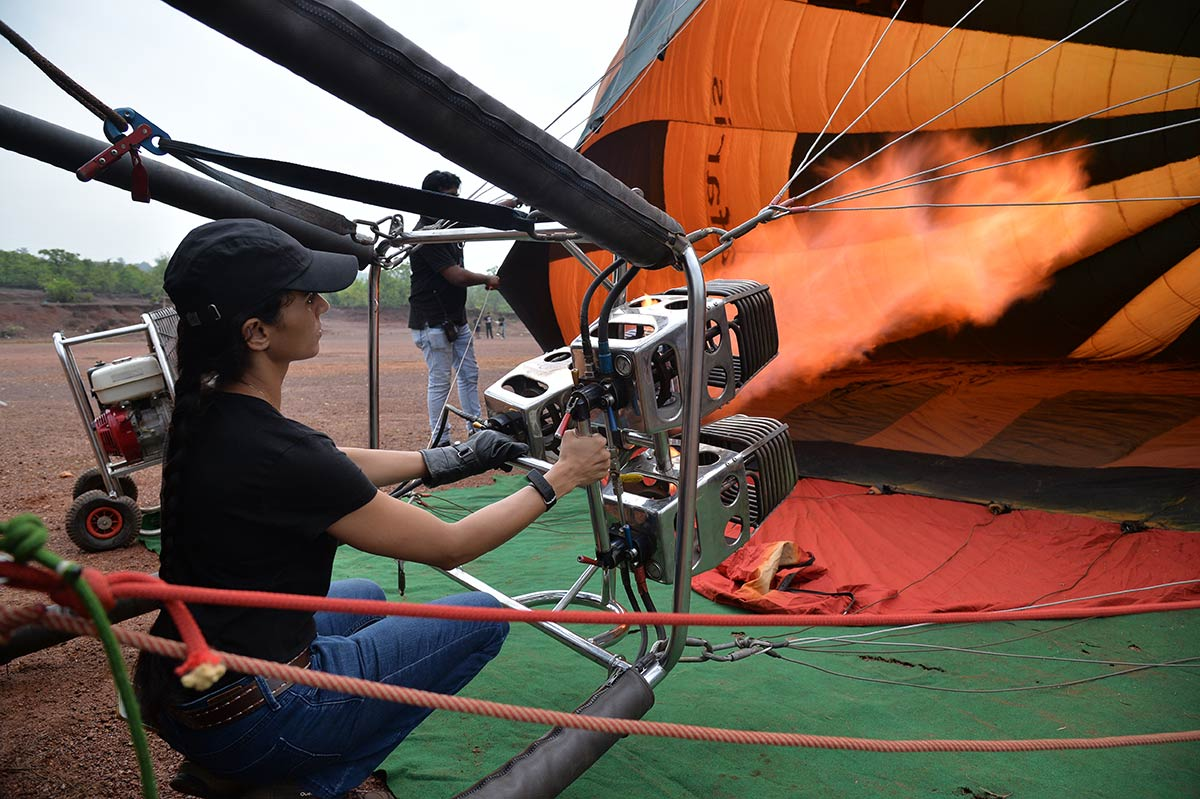 Hot Air Ballooning Goa Offbeat Adventure The Great Next