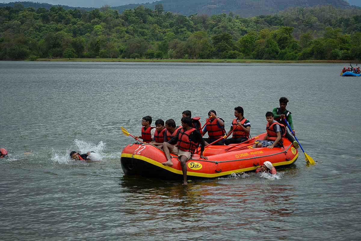 Adventure River Rafting Kolad Maharashtra