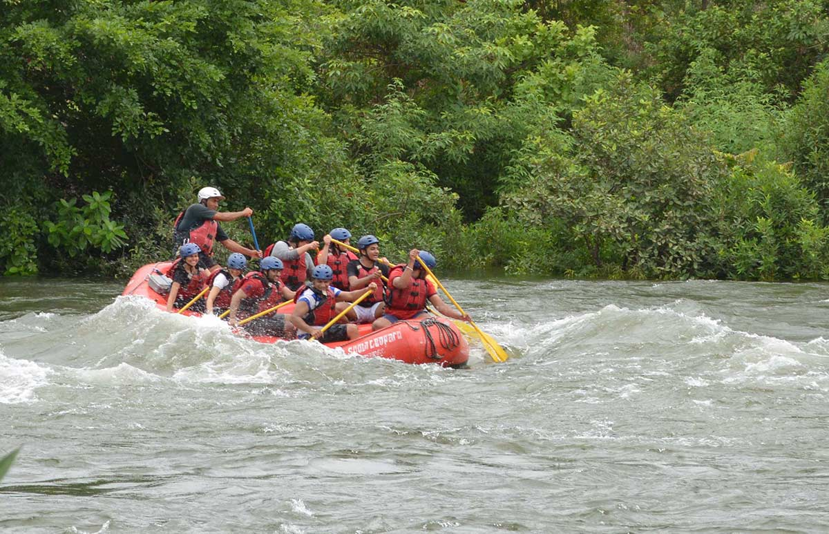 White Water Rafting Kundalika Kolad Maharastra Adventure