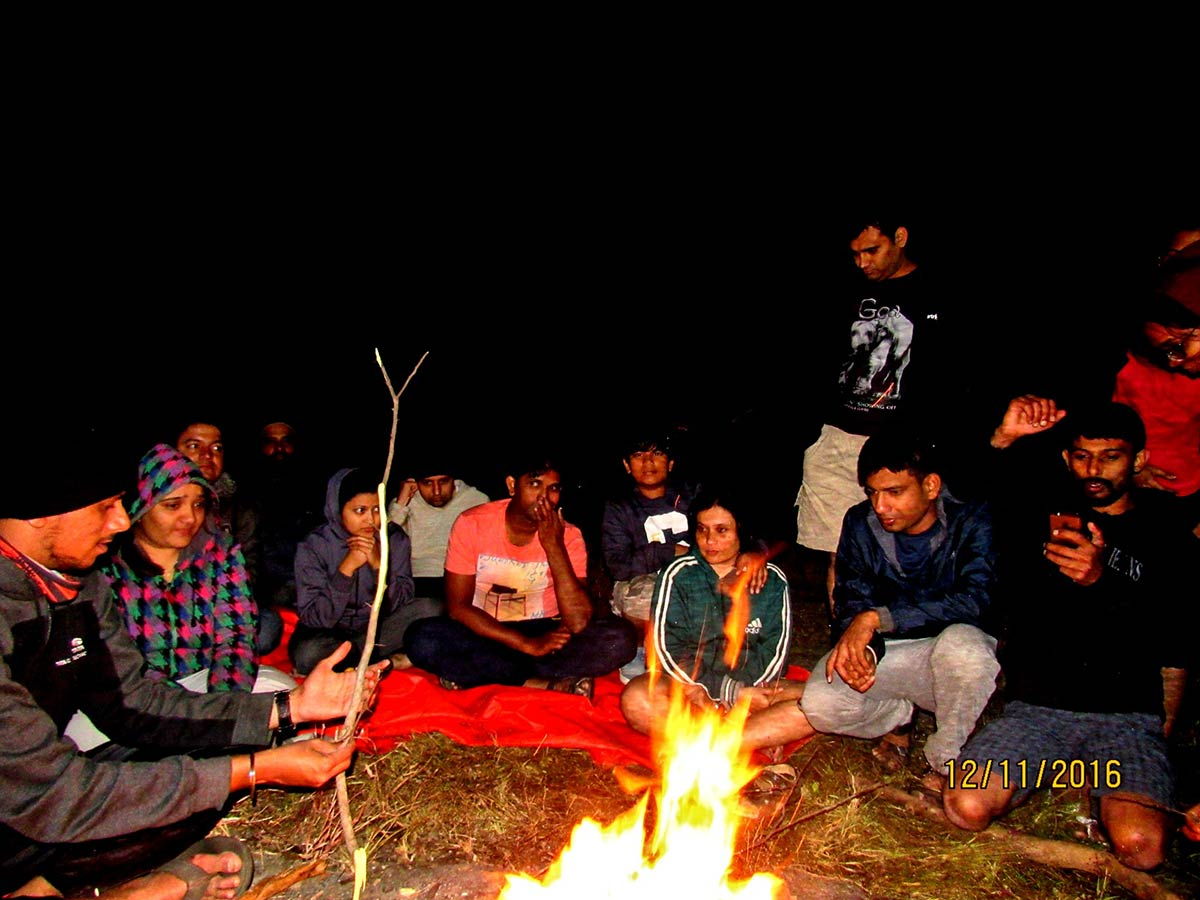 Camping Maharashtra Offbeat Campsite Tents Nature Trail Sandhan Valley