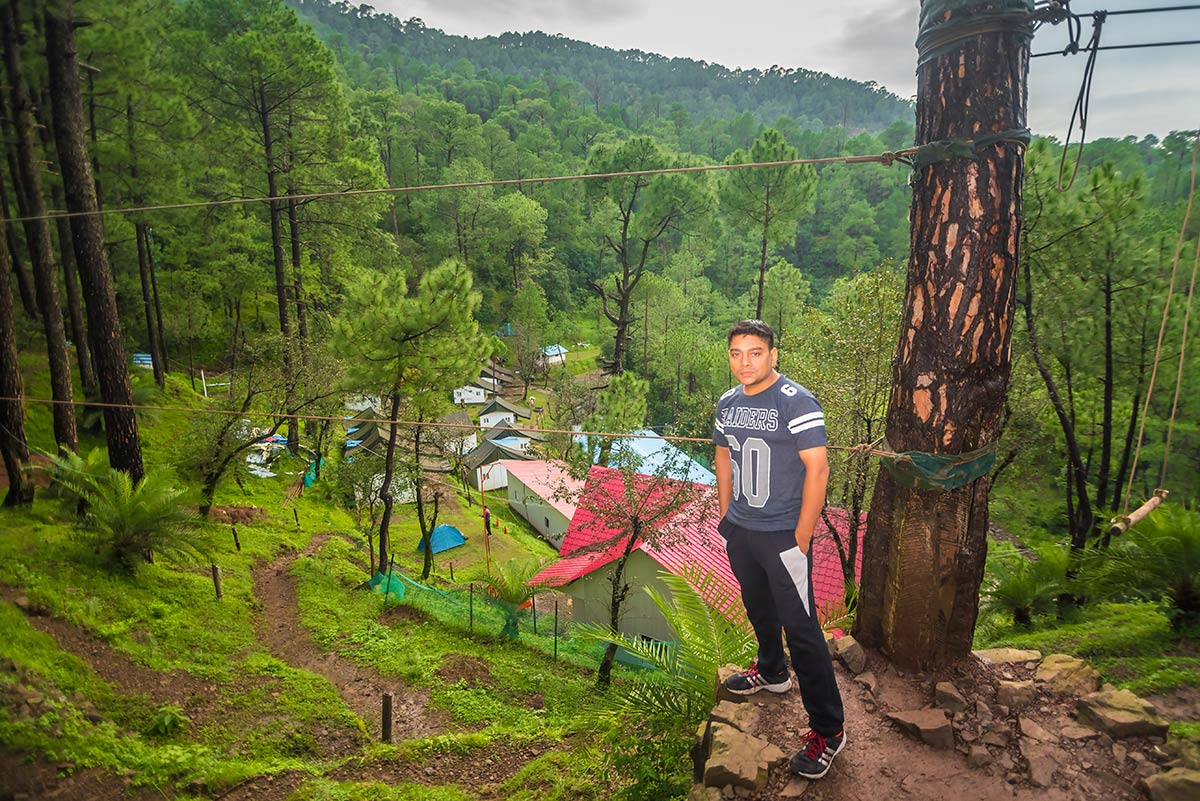 Camping Kangojodi Himachal Pradesh Shimla Nature Adventure Rope Activities Fun